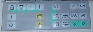 صفحه کلید ECG